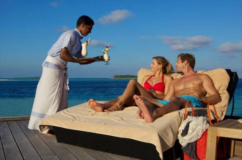 all inclusive maldiverna drinkar