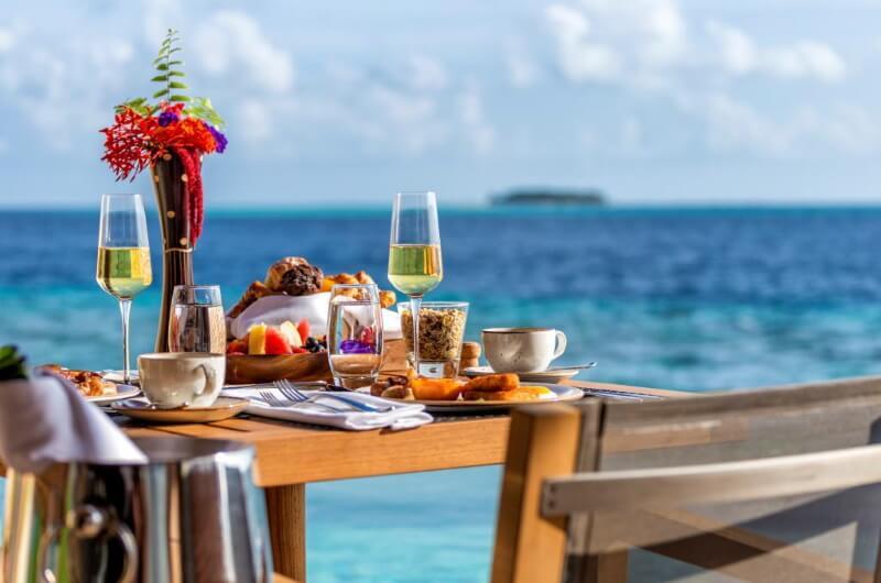 halvpension maldiverna