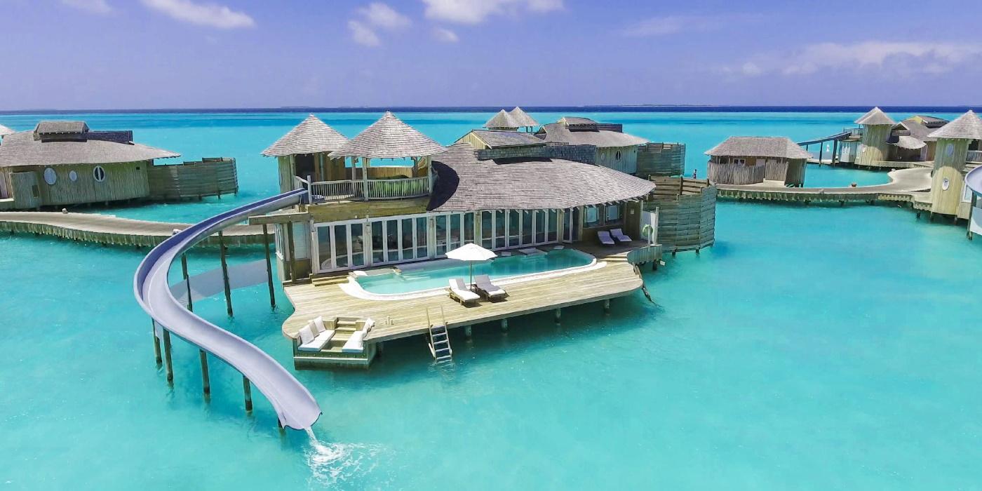 lyxhotell maldiverna vattenvilla