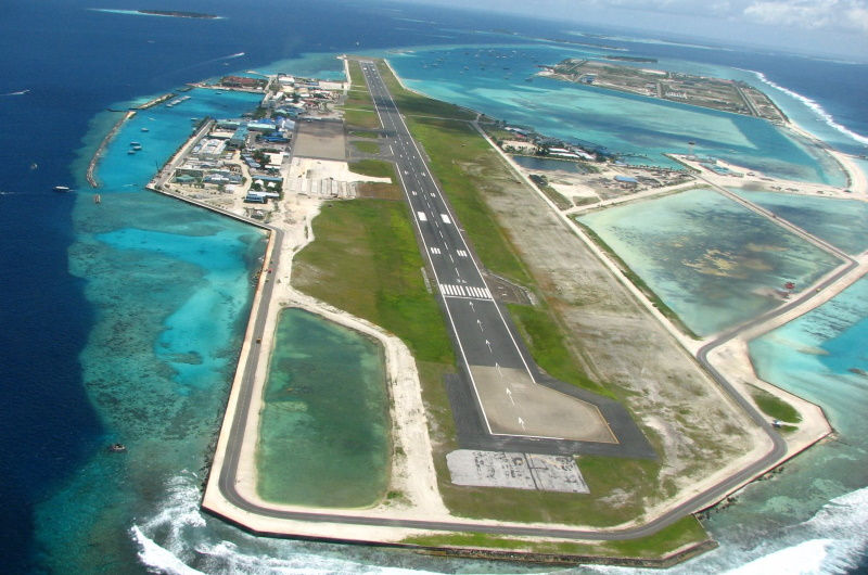 maldiverna flygplats