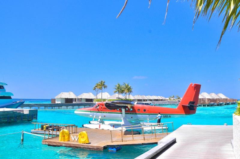 maldiverna sjöflyg
