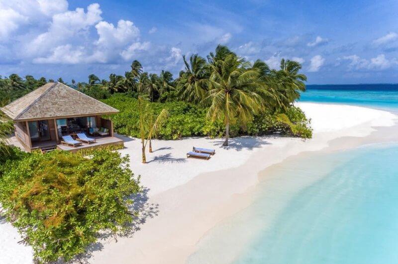 maldiverna strandvilla