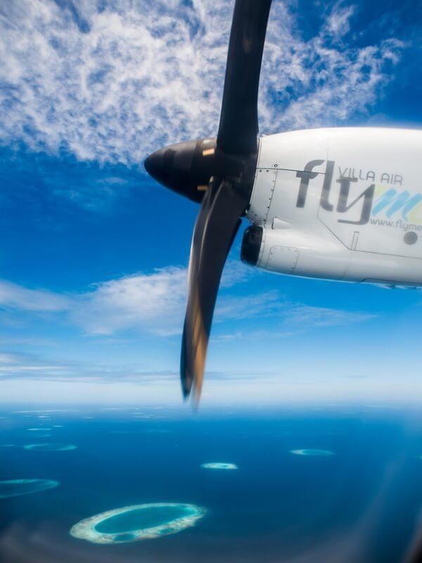 resa till maldiverna sjöflyg