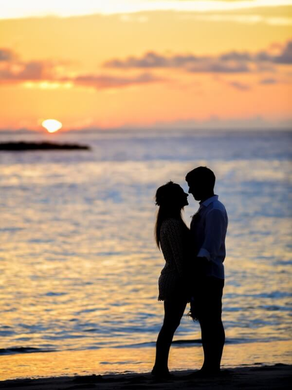 resa till maldiverna solnedgång