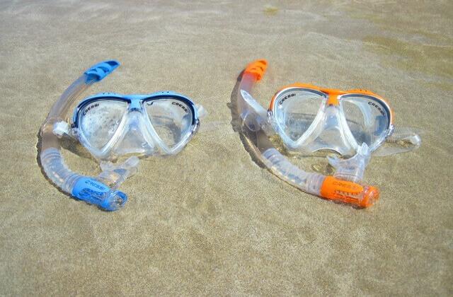 snorkelutrustning maldiverna tips