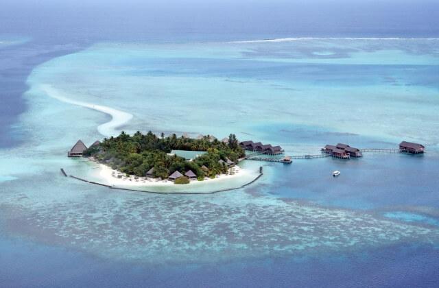 billiga hotell maldiverna - gangehi island resort