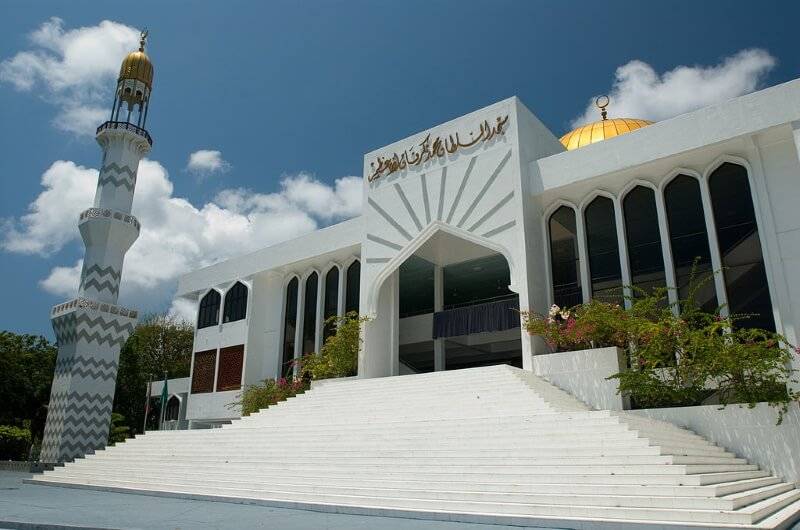islamic centre grand friday mosque - moské malé maldiverna