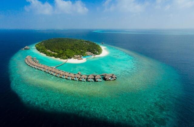 lyxhotell maldiverna - dusit thani maldives