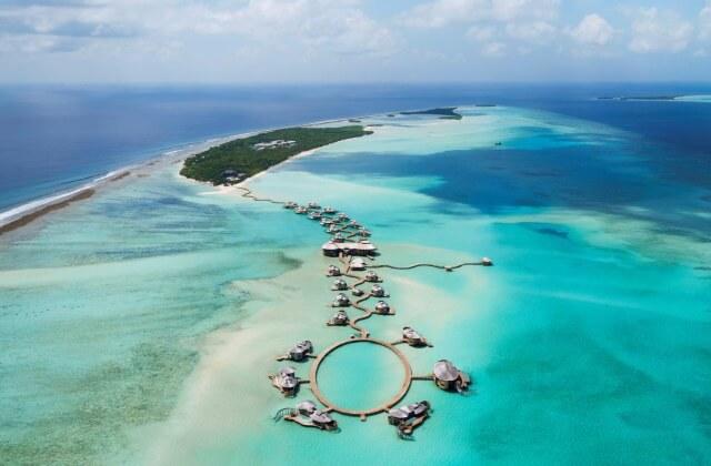 lyxhotell maldiverna - soneva jani