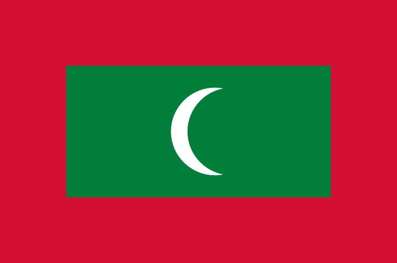 maldiverna fakta flagga