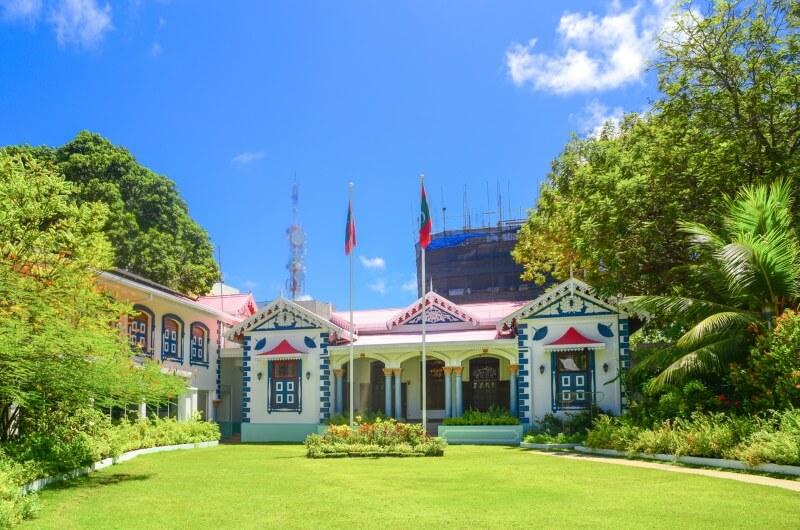 mulee aage palace - malé maldiverna