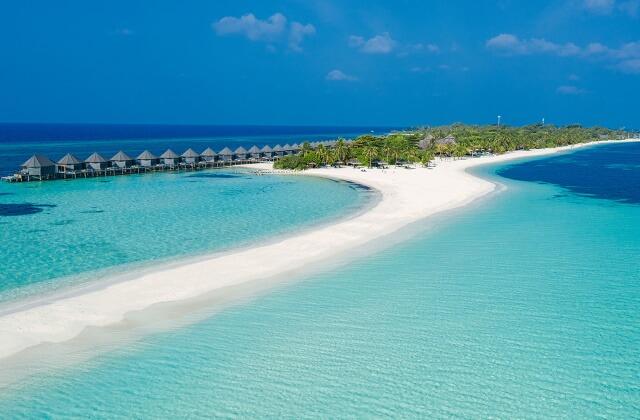 prisvärda hotell maldiverna - kuredu island resort and spa
