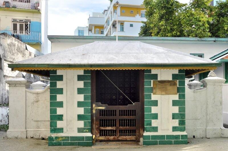 tomb of mohammed thakurufaanu - malé maldiverna