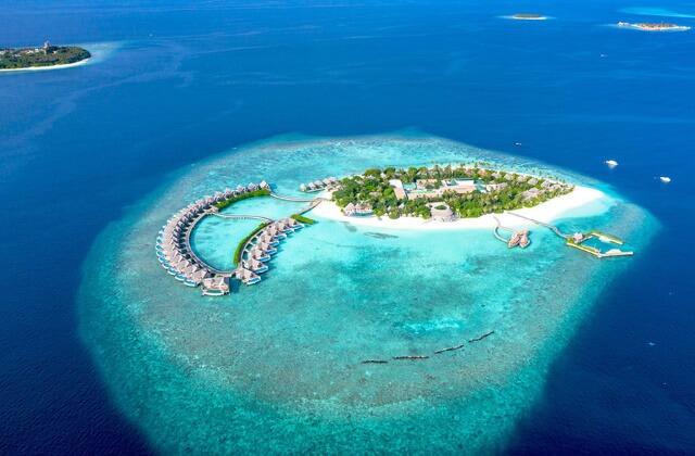lyxhotell maldiverna - milaidhoo island maldives