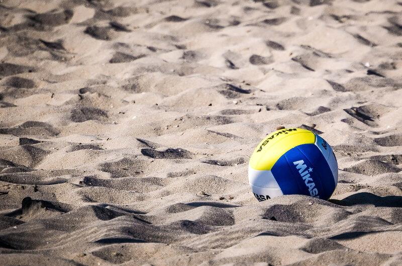 att göra på maldiverna - beach volleyboll