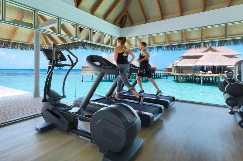 att göra på maldiverna - gym