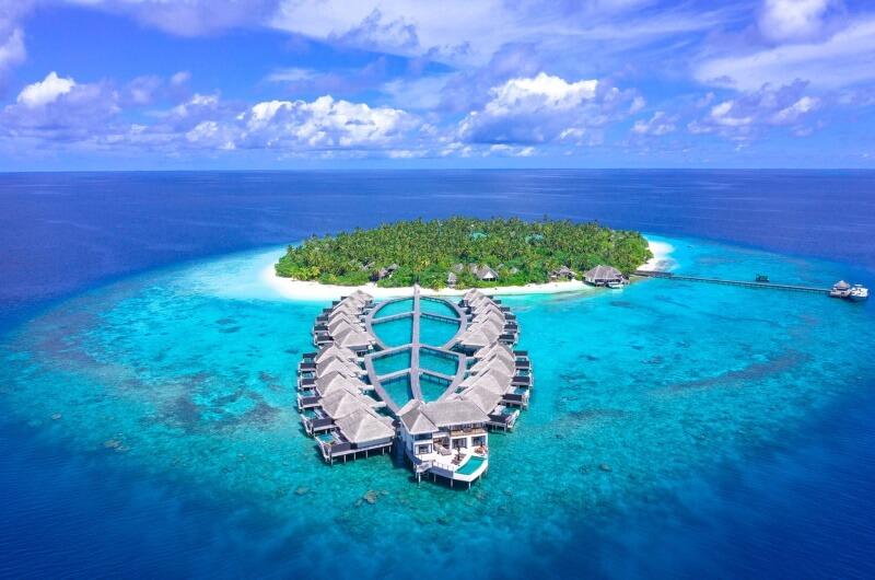 bästa ön maldiverna resort