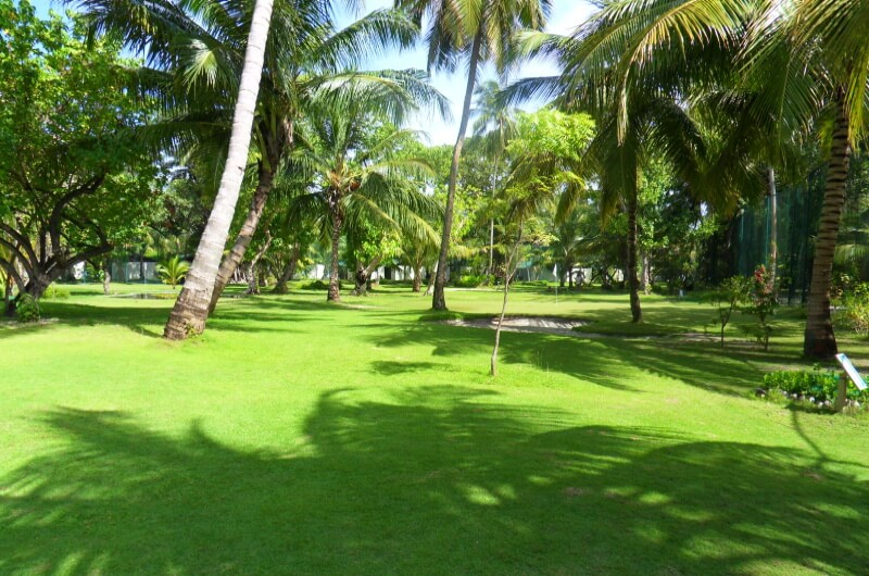 golf maldiverna - meeru island resort and spa