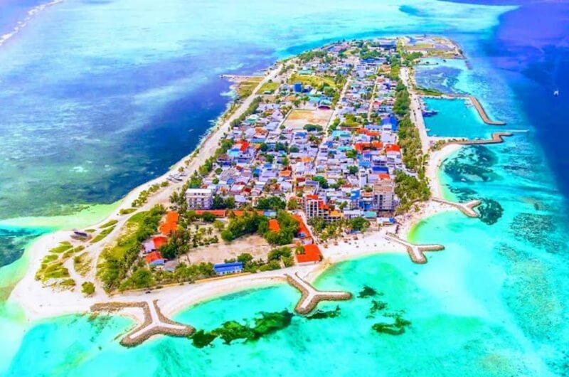 lokal ö på maldiverna