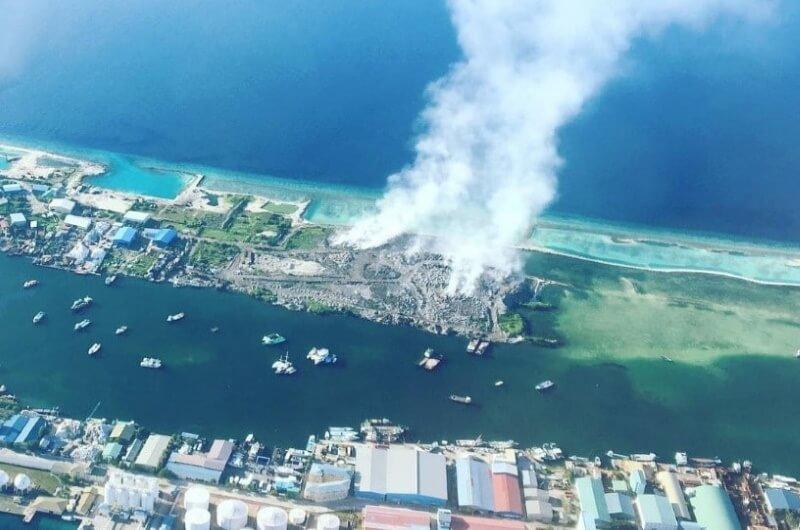 maldiverna sopor - thilafushi - klimathot