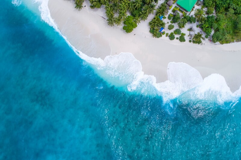 tsunami - översvämning - maldiverna klimathot