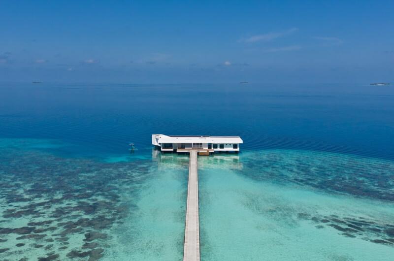 undervattenshotell maldiverna - the muraka