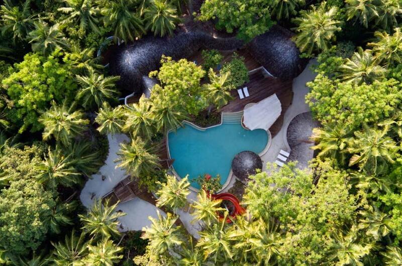 soneva fushi maldiverna - med barn