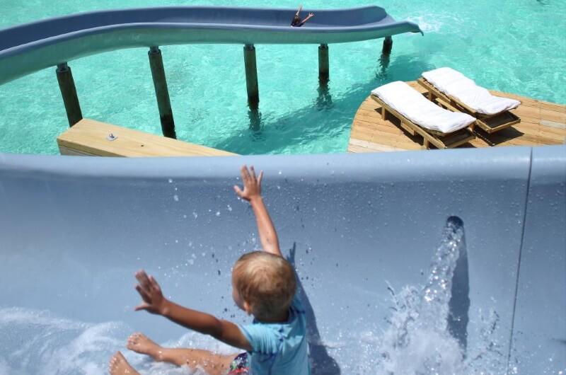 soneva jani maldiverna - med barn